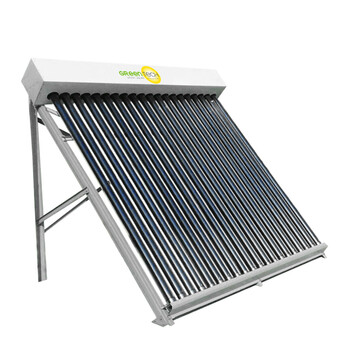 Vertical Glass Evacuated Tubes Solar Collector